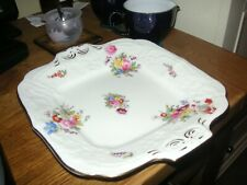 Antique Coalport batwing cake plate