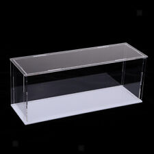 Transparent Acrylic Display Case Tray Dustproof Storage Show Box 28x8x11cm