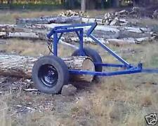 Plans for a log arch/skidding cart for ATV, 4 wheeler, small tractor