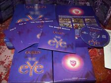 Queen THE EYE PC 3 D Adventure in Big Box Rarità + 120 min audio musica Cajun, ecc