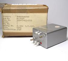 Militärischer Audio-Transformator / Übertrager, NX61578 / NX 61578, NOS