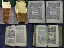 """TITUS LIVIUS """"RÖMISCHE GESCHICHTEN"""" 300 HOLZSCHNITTE ANTWERPEN 1541  #B177S"""