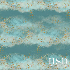 Gold Stars Clouds Photography Backdrop Baby Photo Props Newborn Christmas 5x5