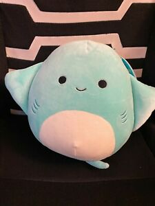 """SQUISHMALLOW MAGGIE The 8"""" BEAUTIFUL, RARE Stingray Brand New With Tag Kellytoy"""