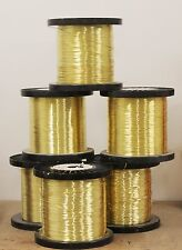 BRASS Wire  Jewelry Grade / For Jewelry Making ,Hobby, Craft / Made In USA