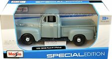 FORD F-1 PICK UP 1948 Die Cast Model Car Metal Models Cars Diecast F1 Grey
