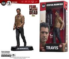 Action Figure Travis Manawa Fear Walking Dead 18 cm Red Wave Color Top McFarlane