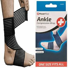 Power Elastic Compression Wrap Brace Bandage Sports Stabilizer Ankle Protector