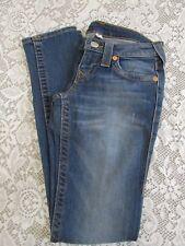 True Religion Women's 25 x 32 Skinny Jeans