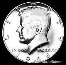 1966 SMS Kennedy Half Dollar 40% Silver U.S. Coin from Original SMS Set