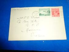 New ListingAustralia 1929 Airmail Multistamp Cover To Us