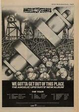 Angelic Upstarts We Gotta Get Out Of This Place Tour Advert NME Cutting 1980
