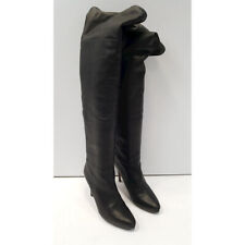 Jimmy Choo Women's Black Knee High Boots.