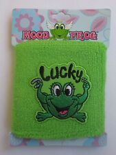 AD Lucky terry cloth stretch MOOD FROG WRISTBAND sweat wrist band