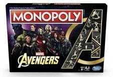 Habsro E6504- Monopoly de Los Vengadores de Marvel. Más de 8 años. 2-6 jugadores