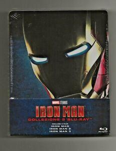 Iron Man Trilogia 3 film Steelbook Marvel Studios (Limited Edition) (3 Blu Ray)