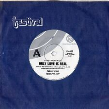 """CAROLE KING - ONLY LOVE IS REAL - 7"""" 45 VINYL RECORD - 1975"""