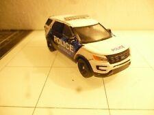 Jacksonville North Carolina Police Patrol SUV  Custom Made 1:64
