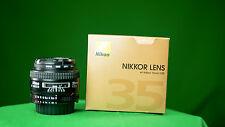Objetivo para Nikon AF Nikkor 35mm F/2 D