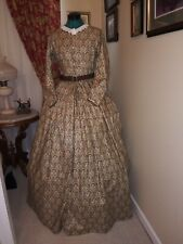 CLEARANCE SAVE 30% Civil War Reenactment Day Dress Size 12 WAS $180 NOW $126