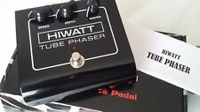Hiwatt HTP Phaser 12AX7 Tubo Guitar Pedal Fx Efectos Stomp Box ECC83 Válvula nos