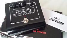 Hiwatt HTP PHASER 12AX7 Tube Guitar FX Pedale Effetto stomp box ECC83 VALVOLA NOS