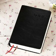 Classic Faux Leather Cover Notebook Vintage Bible Business Style Diary Book