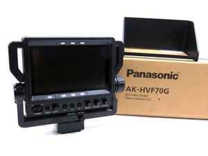 """Panasonic AK-HVF70G 7"""" LCD color studio viewfinder AK-HVF70 for AK-HC3800 more"""