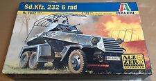 ITALERI 7032 - 1/72 - Sd.Kfz. 232 6 rad - NUOVO