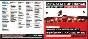 A State of Trance 600 by Various Artists (CD, Apr-2013, 5 Discs, Armada)