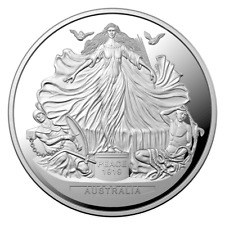 Australien 100 Jahrestag Vertrag von Versailles 2019 PP 1 oz 999 Silbermünze