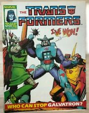 TRANSFORMERS #120 (1987) Marvel UK comics VG+