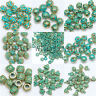 RetroTibet Green Beads Spacer Beads Caps For Jewelry making European Bracelet
