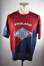 England Trikot Training Umbro Gr. M 1994 vintage Jersey WM EM Shirt Sport 90s