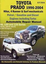 Toyota Landcruiser 1996 to 2004 book paper manual