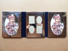 INTERNATIONAL SILVER COMPANY SILVER PLATED TABLETOP TRIPLE PICTURE FRAME