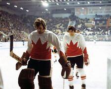 Ken Dryden, Serge Savard team Canada 1972 8x10 Photo