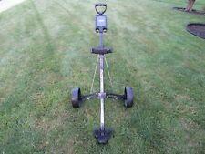 Bag Boy M-300 Push Pull Two Wheel Folding Golf Bag Cart Caddy