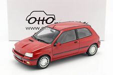 Renault Clio 16S Ph.1 Año 1995 Rojo 1:12 Ottomobile