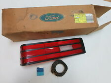 New Ford brand OEM 1987 1988 Escort GT sport hatch back tail light lens NOS