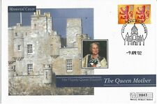 GB Clearance 2002 Mercury Queen Mother Castle of Mey Memorial cover
