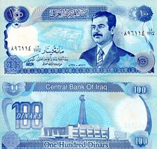 IRAQ 100 Dinar Banknote World Paper Money Currency Pick p84b 1994 Saddam Hussein