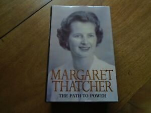 Margaret Thatcher signed book The Path to Power