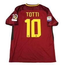 Maglia Totti Roma maglietta ultima partita serie A 2016 2017 vintage retro rossa