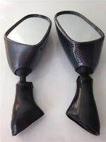 OEM Replacement Side Mirrors Fit Suzuki Katana Gsx600F 750F Gsx 1998-2006 Carbon