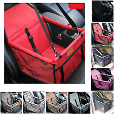 Waterproof Car Seat Pet Mats Hanging Safety Travel Dog Carrier Holder Mesh Truck