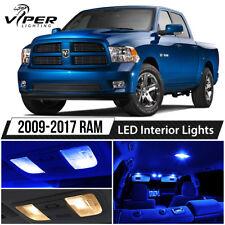 2009-2017 Dodge RAM 1500 2500 3500 Blue LED Interior Lights Package Kit