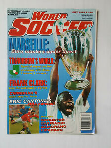 WORLD SOCCER MAGAZINE JULY 1993 COVER MARSEILLE