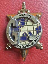 Insigne GROUPE GEOGRAPHIQUE  /  DELSART/89100 Sens