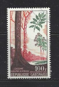 GABON (REP) - C62 - USED - 1967 -  TREES